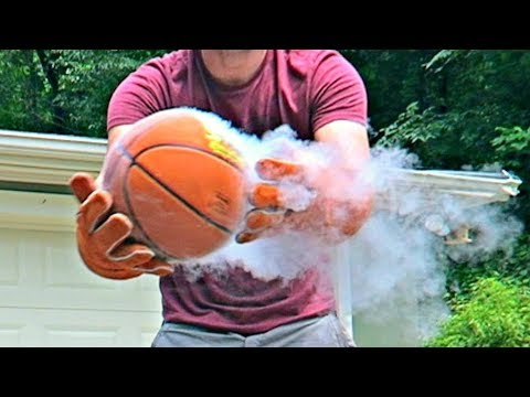 Thumbnail: Don't Put Basketball in Liquid Nitrogen