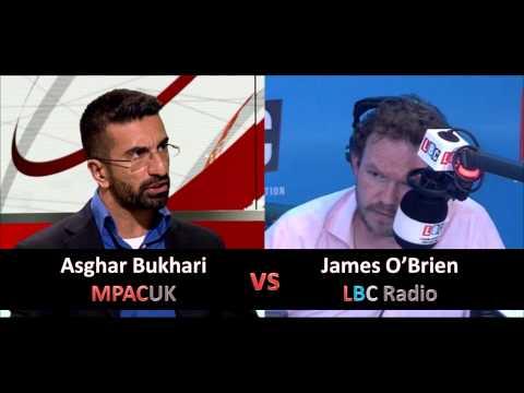Does CAGE support #JihadiJohn? Asghar debates LBC's James O'Brien