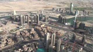 Dubai City - View from Burj Khalifa