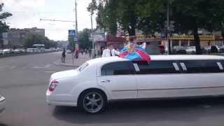 Как гуляют будущие пограничники в Калининграде  Young russian border guards celebrate