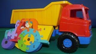 Развивающее  видео про машинки: грузовичок и трактор