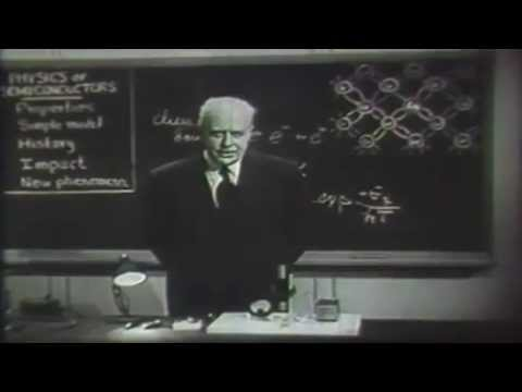 Bell Labs Archives Dr. Walter Brattain on Semiconductor Physics