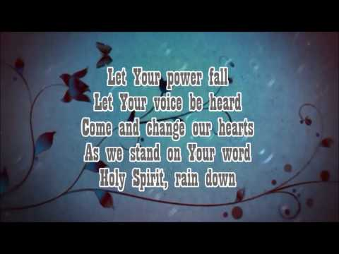 HOLY SPIRIT RAIN DOWN-HILLSONG