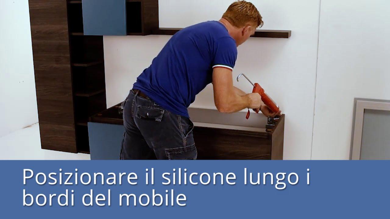 Qubo guida al montaggio del lavabo integrato youtube