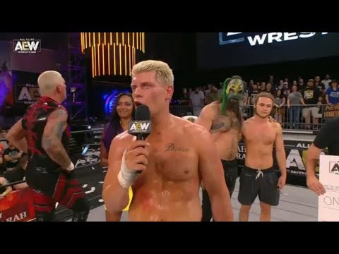 Cody Rhodes asks the fans a question: AEW Fight for the Fallen