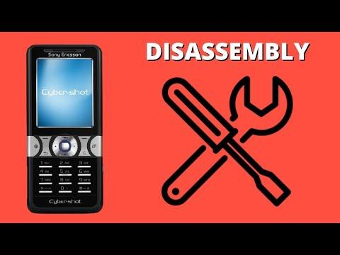 Sony Ericsson K550i.Demontaż/Disassembly/Repair/Ringtones.Retro