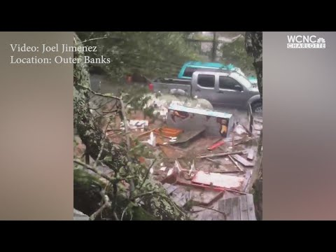 Governors touring Hurricane Dorian storm damage in Carolinas