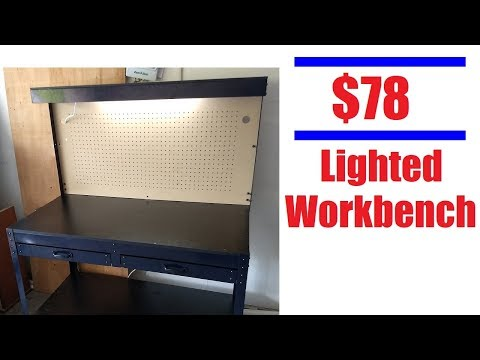 Harbor Freight $78 Workbench (OK, so I was wrong, it doesn't suck)