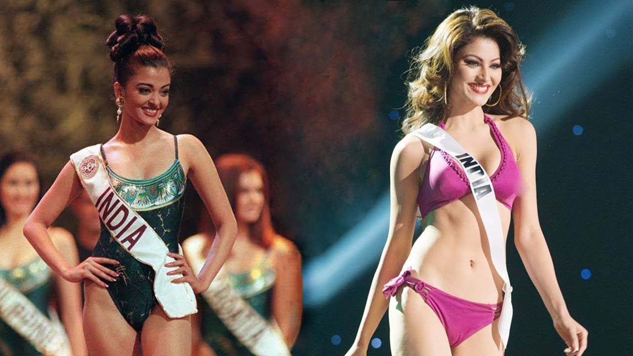Aishwarya   Urvashi - Top Bollywood Actresses Who Won Miss World   Miss Universe ??