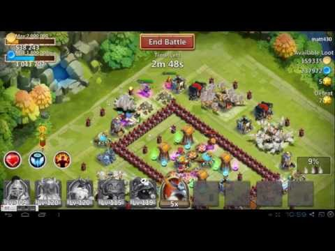 Castle Clash Random Raid Recorded #4