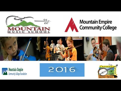 Mountain Empire Community College -Mountain Music School 2016