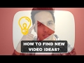 How To Get Ideas For YouTube Videos - Unlimited Content Ideas - Shivam Chhuneja