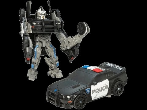 Transformers jouets voitures de police dessin anim pour les enfants youtube - Voiture police dessin anime ...