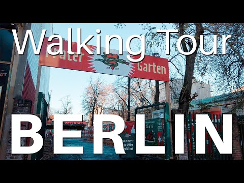 Berlin Walk Sunday Afternoon 🇩🇪 [4k]  Prenzlauer Berg (2019)