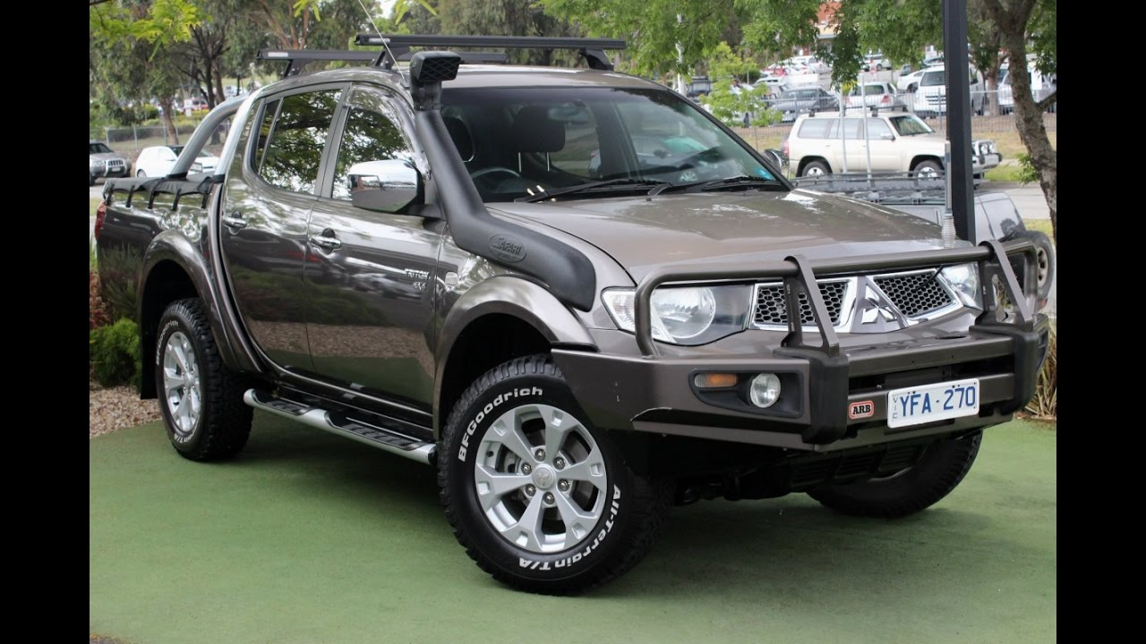 b5941 2011 mitsubishi triton glx r mn manual 4x4 walkaround video rh youtube com