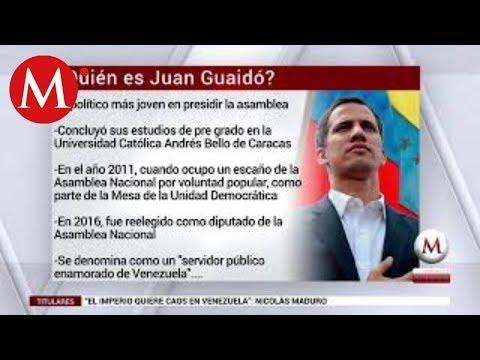 """¿Quién es Juan Guaidó? /Presidente """"interino"""" de Venezuela 2019"""