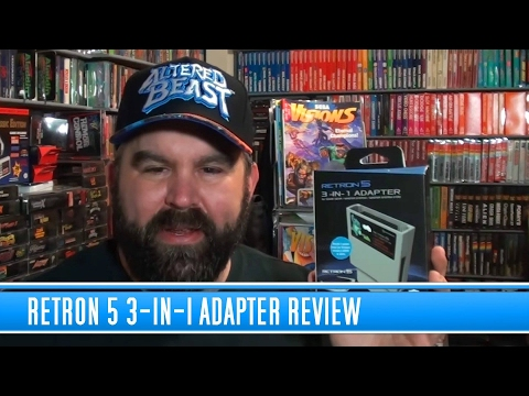 RetroN 5 3-in-1 adapter Review