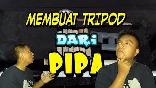 Cara Membuat Tripod Dari Pipa | how to create a tripod on the pipe