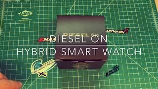 Deisel On Hybrid Smart Watch