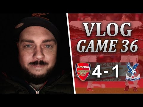 ARSENAL 4 v 1 CRYSTAL PALACE - LIFE AFTER ALEXIS - MATCHDAY VLOG