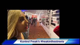 Kontrol freak catches another freak in the streets interviews Slim stunta from Stunt Lifestyle Tv