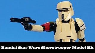 Bandai Star Wars Shoretrooper Model Kit Rogue One Review