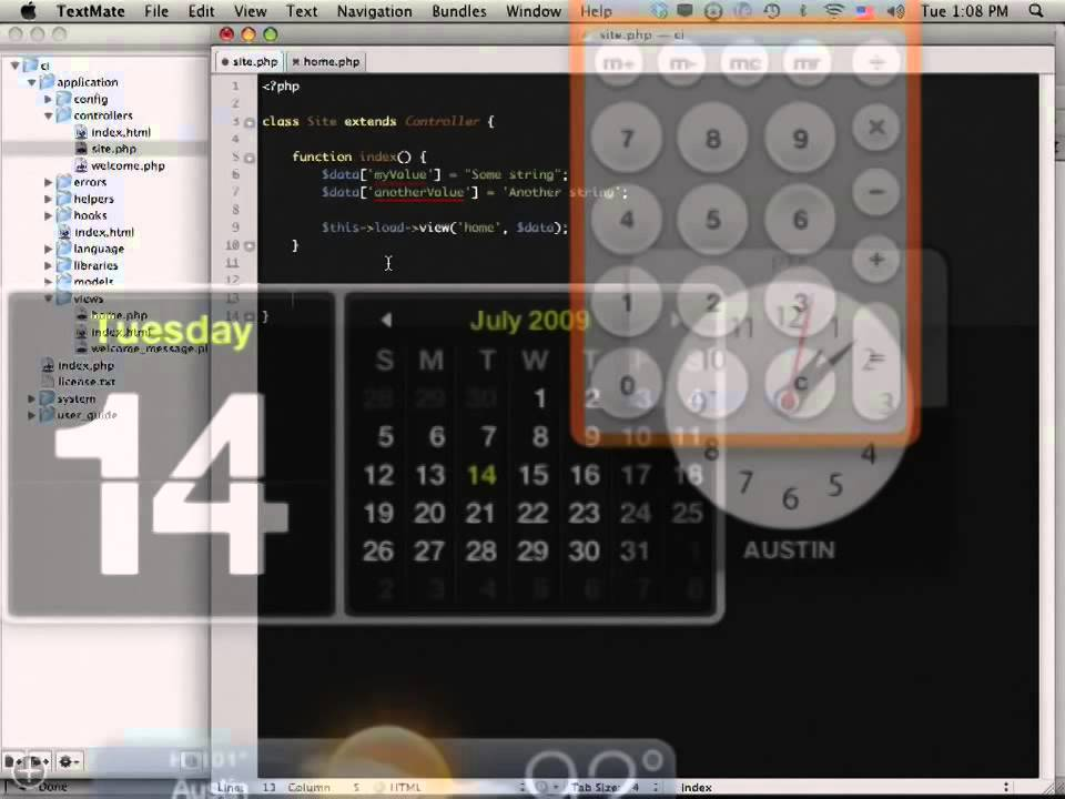 PHP CodeIgniter Tutorial