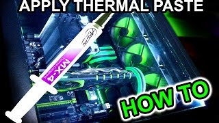 HOW TO APPLY/Replace THERMAL PASTE/Compound on I7 CPU