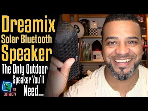 Dreamix Solar Wireless Bluetooth Speaker 🔊 : LGTV Review