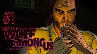 THE FAIRY TALE DETECTIVE? - Let's Play: The Wolf Among Us Episode 1: Faith PS4 Gameplay Walkthrough