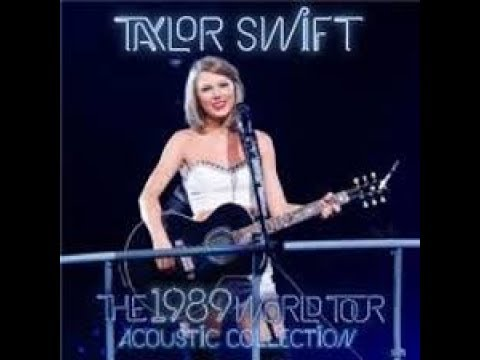 Taylor Swift All Too Well Acoustic Live At 1989 World Tour Youtube