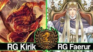 RG Kirik vs. RG Faerur Patreon Feature Match : Force of Will (TCG)