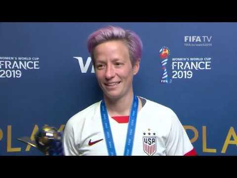 Megan Rapinoe – Player of the Match – USA v Netherlands
