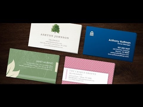 Business Cards From 123print Start Business Here Youtube