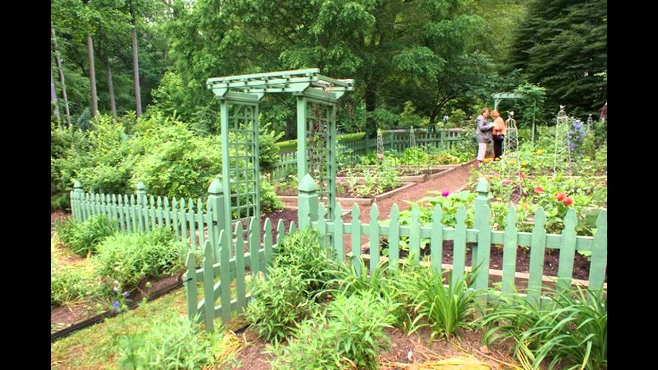 Exotic Picket Fence For Garden Designs YouTube
