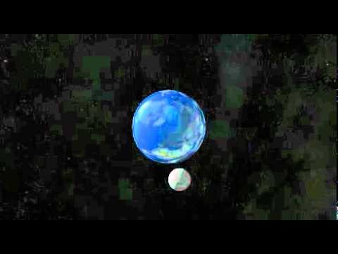 Движение Луны вокруг Земли