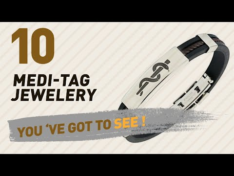Medi-Tag Jewelery Collection For Women // UK New & Popular 2017