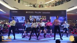 Kpop Class by EVO DANCE SCHOOL Momoland Boom boom StreetVolution Palembang 2018