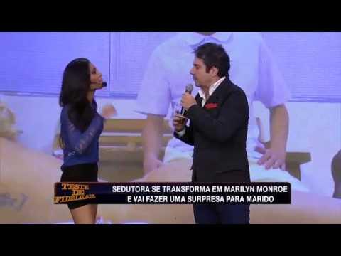 Teste De Fidelidade 01/06/2014 - Esposa Fica Irada E Diz Que Vai 'acabar' Com Marido