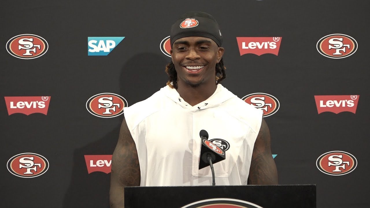 San Francisco 49ers Running Back Jerick Mckinnon On Learning New System And Jimmy Garoppolo