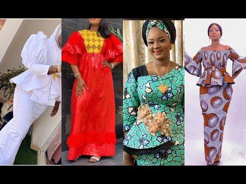 50+ GORGEOUSLY STYLISH #ANKARA AND GUINEA BROCADE FOR THE ELEGANTLY STYLISH WOMEN