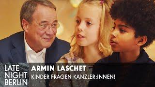 Armin Laschet, warum willst du Bundeskanzler werden? | Kinder fragen Kanzler:innen | LNB