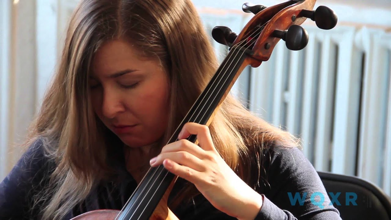 Alisa Weilerstein plays Bach's Cello Suite No.3, Gigue