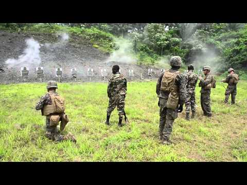 U.S. and Cameroonian Military Personnel Train Together