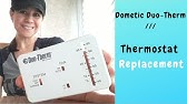 Dometic RV Thermostat Replacement - YouTube on duo therm wiring schematics, duo therm ac parts, duo therm ac cover, 7 wire thermostat diagram, duo therm ac for rv, duo therm shroud, duo therm furnace manual, duo therm replacement parts, duo therm wall heater, rv air conditioner wiring diagram, duo therm air conditioner parts, rth111b wiring diagram, duo therm air conditioners manuals, duo therm brisk air, rth7600d wiring diagram, duo therm rv air conditioner, ac thermostat diagram, car audio speaker wiring diagram, duo therm rv furnace gas valve, duo therm rv ac problems,