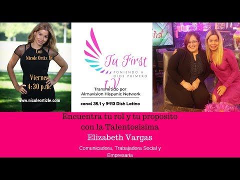 Tu First  entrevista con Elizabeth Vargas I parte