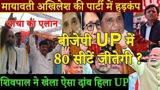 2019 में UP में बीजेपी जीतेंगी पूरी 80 सीटें ! Shivpal Yadav ने हिला दी अखिलेश मायावती की नींव