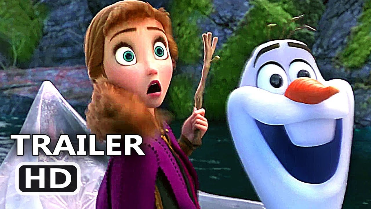 FROZEN 2 International Trailer (2019) Disney Animated Movie HD