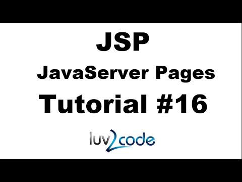 JSP Tutorial #16 - Including Files with JSP
