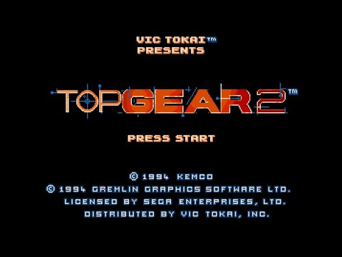 Mega Drive Longplay [154] Top Gear 2